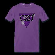 T-Shirts ~ Men's Premium T-Shirt ~ Triangle Shirt