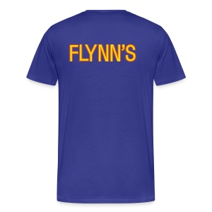 Flynn's (back- and frontprint) - Men's Premium T-Shirt