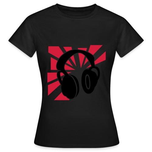 dj - T-shirt Femme
