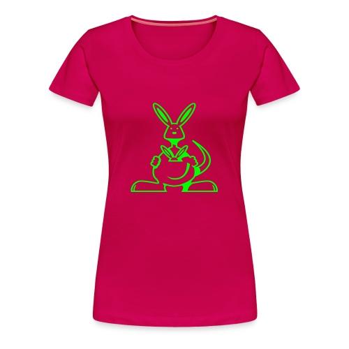 KANGOUROU - T-shirt Premium Femme