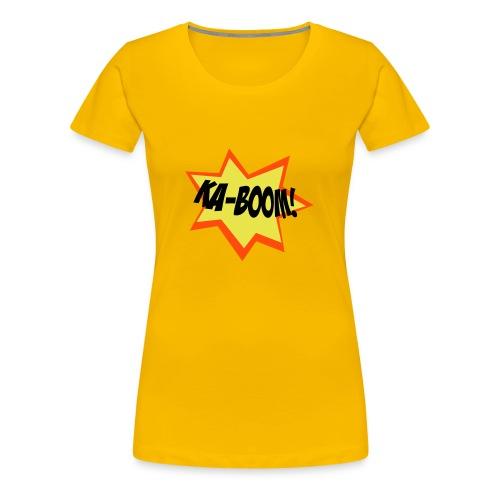 Danger High Explosives - Women's Premium T-Shirt