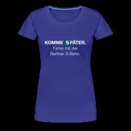 T-Shirts ~ Frauen Premium T-Shirt ~ Berliner S-Bahn-Shirt (Women)