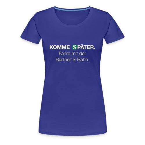 Berliner S-Bahn-Shirt (Women) - Frauen Premium T-Shirt