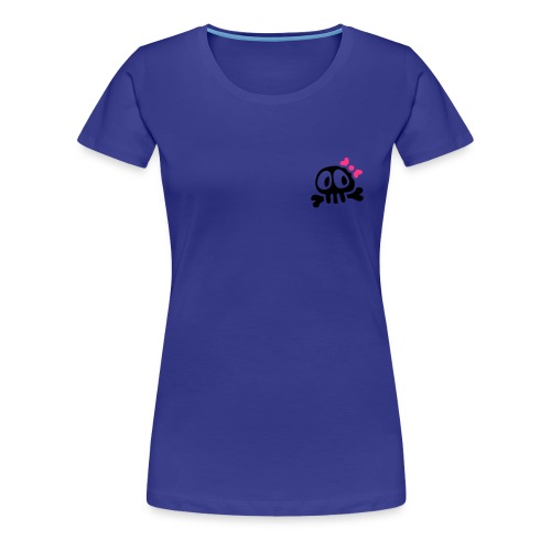 lady skull - T-shirt Premium Femme