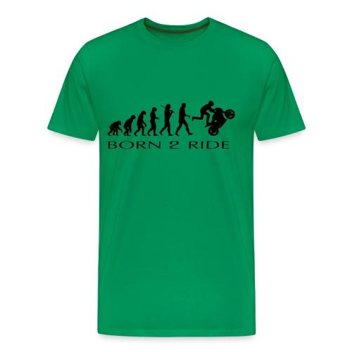 Born2ride Evolucion moto - Camiseta premium hombre