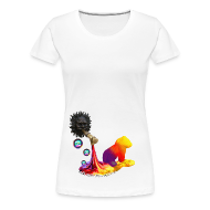 T-shirts ~ Dame premium T-shirt ~ Let out the colors, girlieshirt