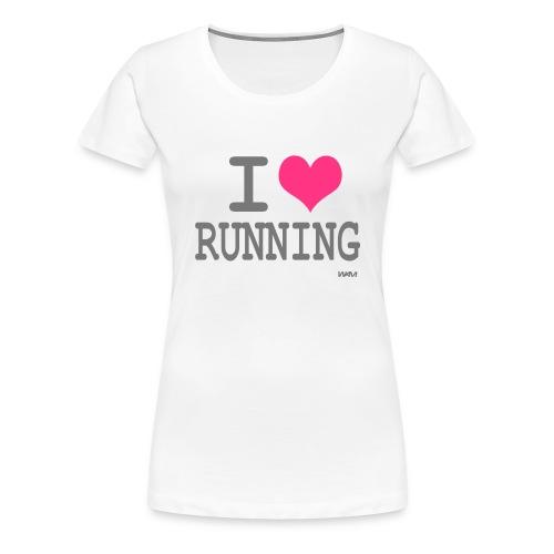 i love running - T-shirt Premium Femme