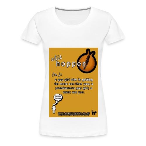 Clit Hopper - Women's Premium T-Shirt