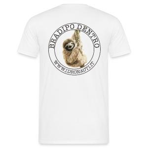 Bradipo dentro Brand (schiena) - Maglietta da uomo