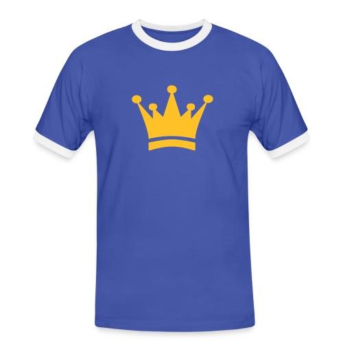 Produktkönig Flock - Männer Kontrast-T-Shirt