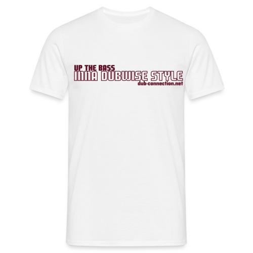Classic T-shirt UP THE BASS - Men's T-Shirt