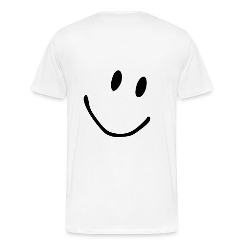 Smiley T-Skjorte - Premium T-skjorte for menn