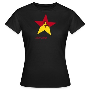 mon STAR girl monster - Frauen T-Shirt