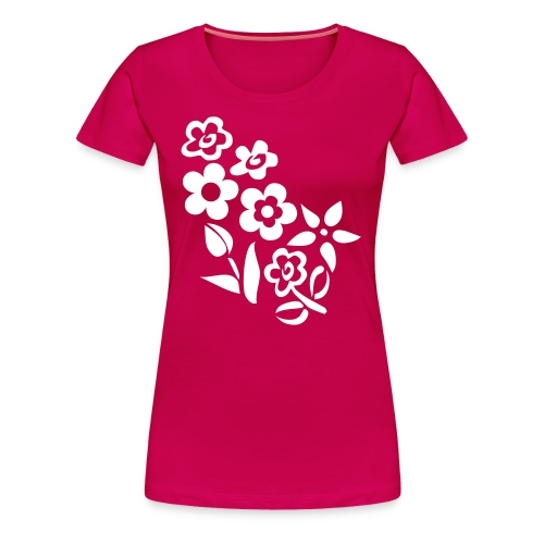 Lentinashe Flowers Top - Women's Premium T-Shirt