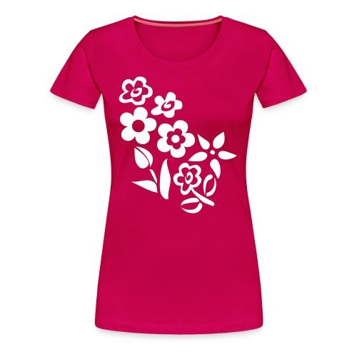 Lentinashe Flowers Top - Women's Premium T-Shirt