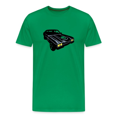 Muscle car kaki - Camiseta premium hombre