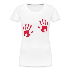 Hands on the right places - Women's Premium T-Shirt