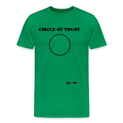 Circle of Trust - Premium T-skjorte for menn