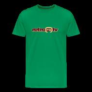 T-Shirts ~ Männer Premium T-Shirt ~ retro-tv T-Shirt