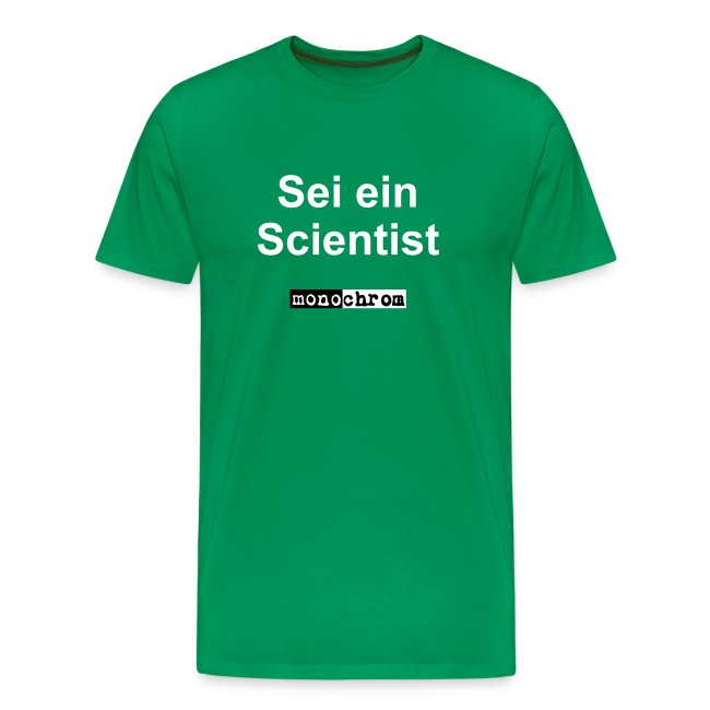 Sei ein Scientist - weiss