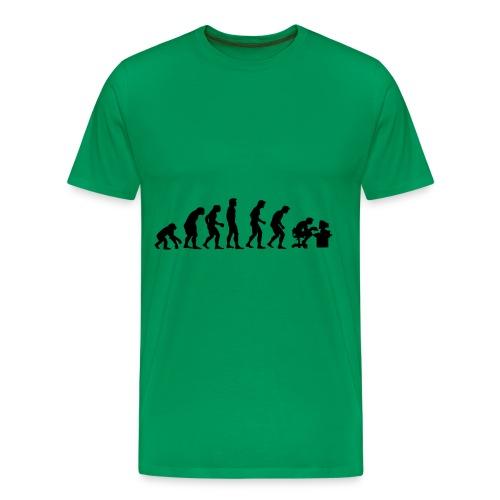 Nörd utveckling - Premium-T-shirt herr