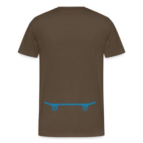 sk8-back - Premium-T-shirt herr