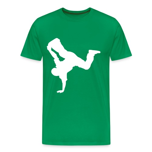 Breakdance (white) - Men's Premium T-Shirt