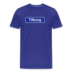 Tilburg (pas zelf de shirtkleur aan) - Mannen Premium T-shirt