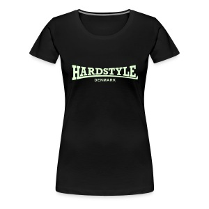 Hardstyle Denmark - Glow in the dark - Women's Premium T-Shirt