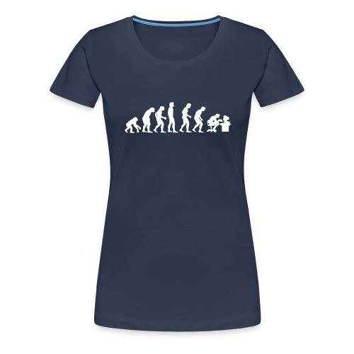 Aurora Computers Evolution Ladies - Women's Premium T-Shirt