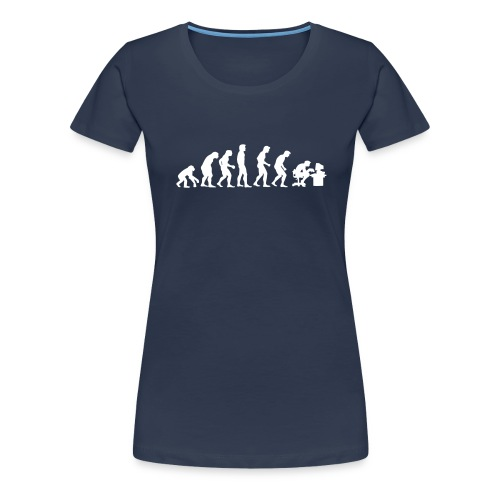 Aurora Computers Evolution Ladies - Women's Premium T-Shirt
