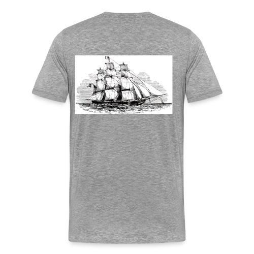 T-shirt Voilier trois-mats - T-shirt Premium Homme