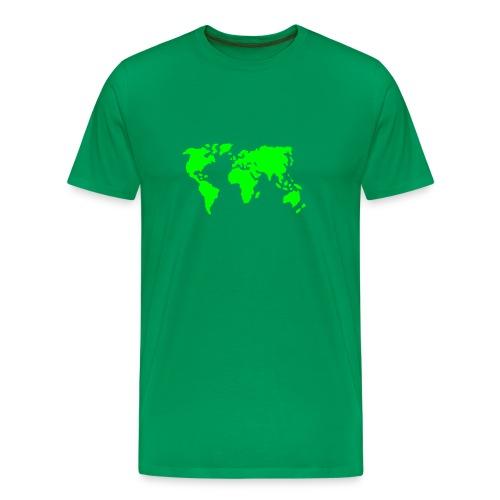 rock the world - T-shirt Premium Homme