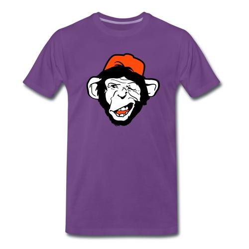 Koszulka z małpą` - Koszulka męska Premium
