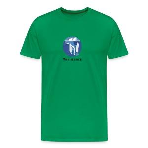 Wikisource torse Blanc - T-shirt Premium Homme