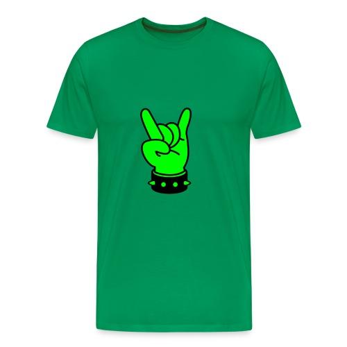 tee shirt homme vert yeah - T-shirt Premium Homme