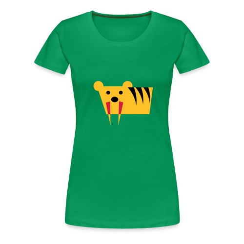Tigershirt - Frauen Premium T-Shirt