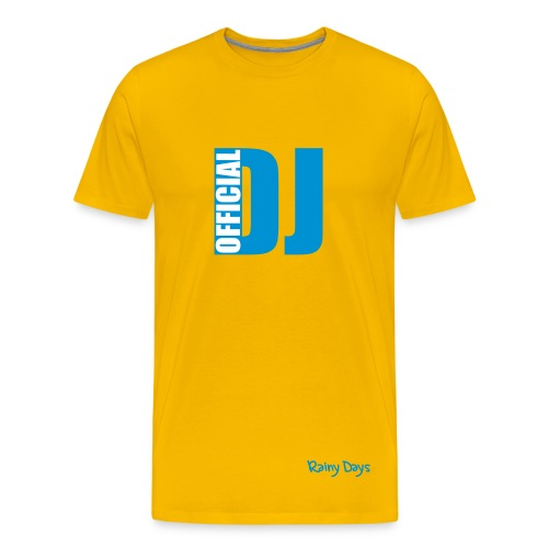 officail dj - Men's Premium T-Shirt