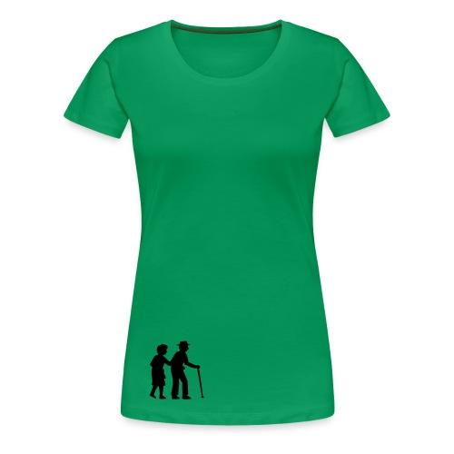 bluza damska z nadrukiem - Koszulka damska Premium