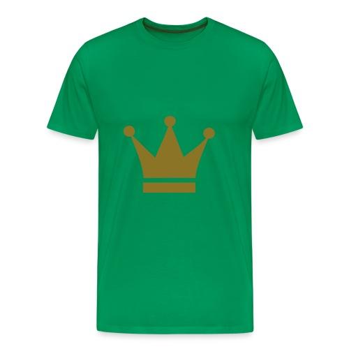 Kingi t-paita - Miesten premium t-paita