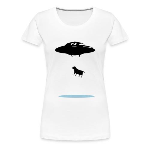 Moo-vasion - Women's Premium T-Shirt