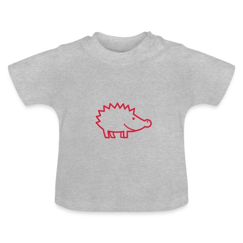 Igel im Profil - Baby T-Shirt