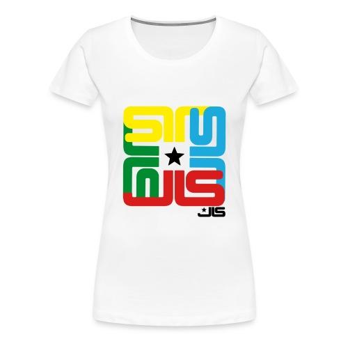 JLS 4 logo Ladies - Women's Premium T-Shirt