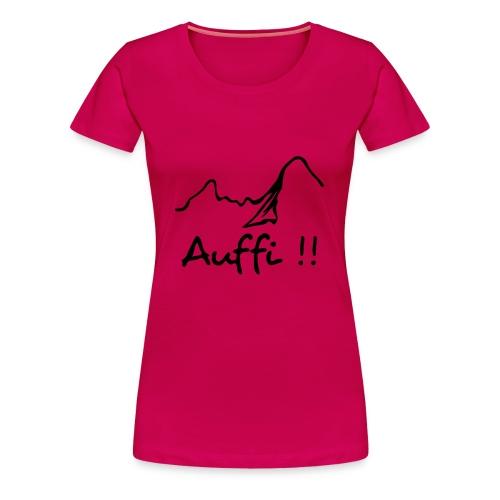 Frauenshirt Auffi - Frauen Premium T-Shirt