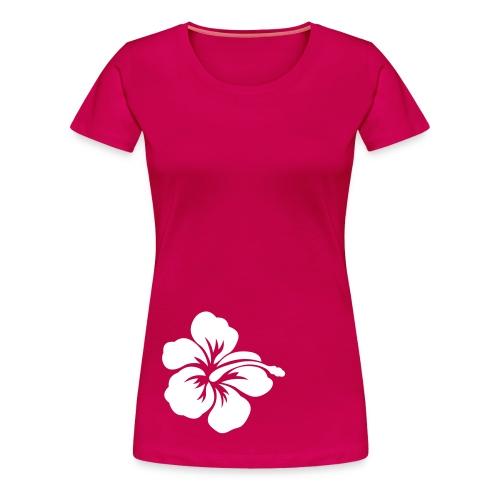 Hibiscus Hibiskus - Frauen Premium T-Shirt