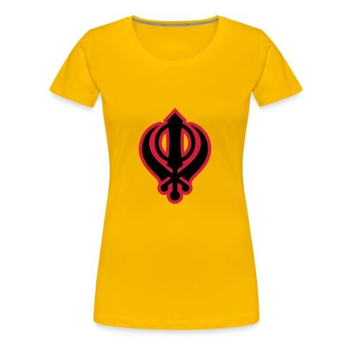 Sikh Khanda - Women's Premium T-Shirt