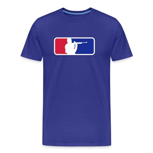 Shooting Sport Color Flex print - Men's Premium T-Shirt
