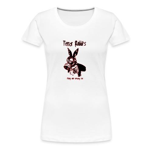 terror rabbits - Frauen Premium T-Shirt