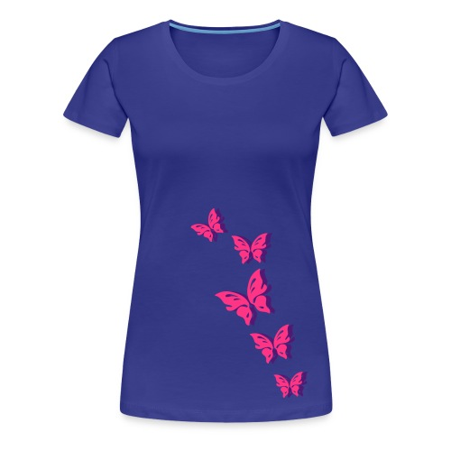 flutterbys - Women's Premium T-Shirt