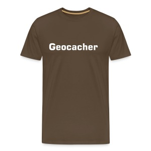 Basis T-Shirt Geocacher braun - Männer Premium T-Shirt